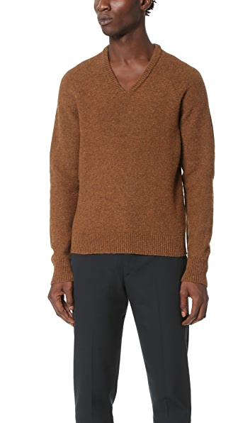 Lemaire V Neck Sweater