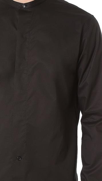 Lemaire Officer Collar Shirt