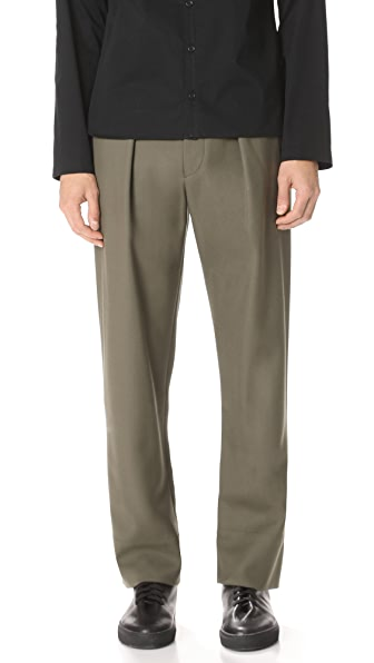 Lemaire Wool Elasticated Pants