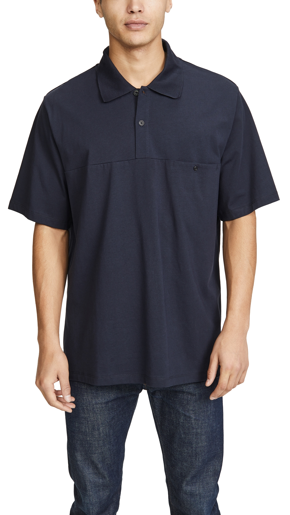 Lemaire T-shirts POLO SHIRT