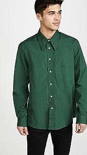 Lemaire Large Collar Shirt
