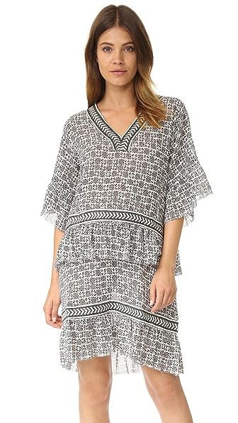 Lemlem Kafa Short Dress