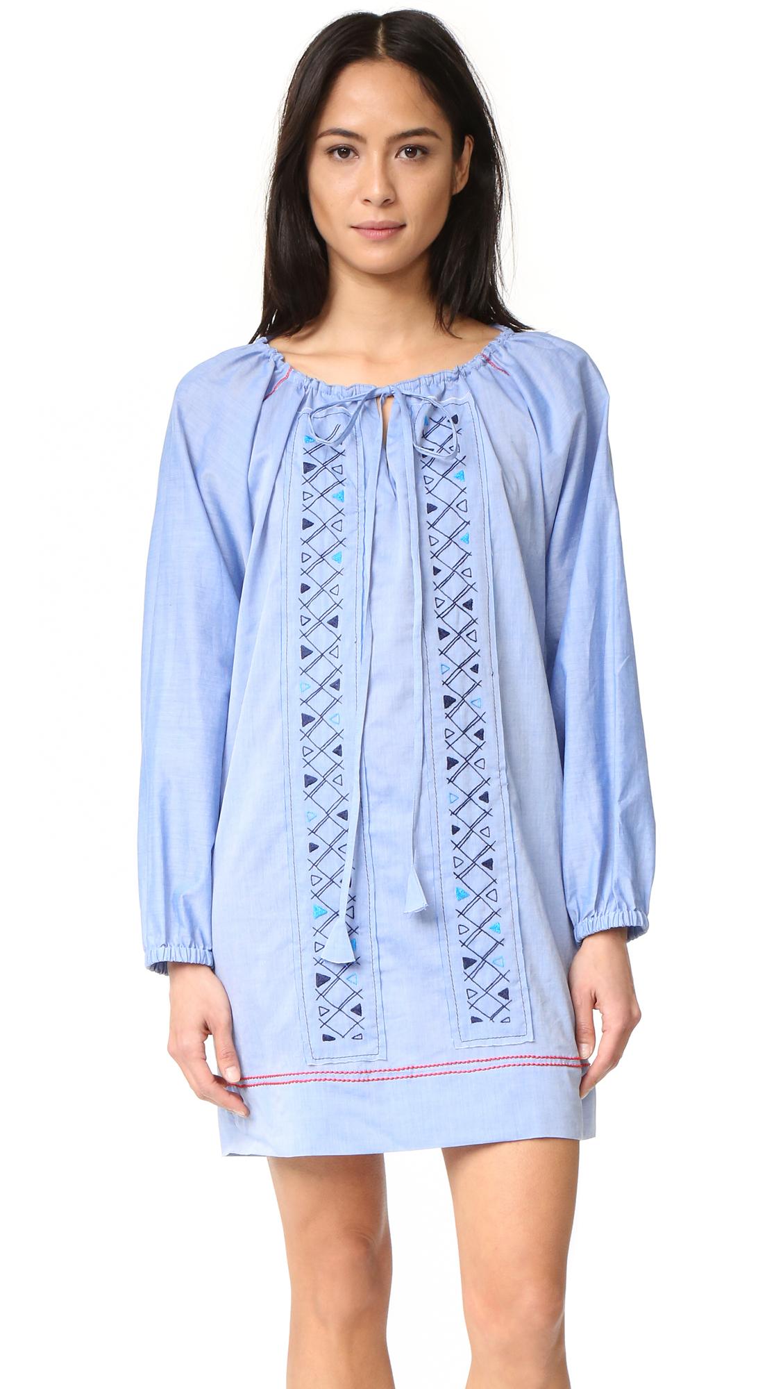 Lemlem Oni Dress - Chambray at Shopbop