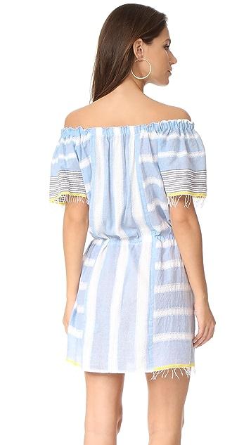 Lemlem Luna Off Shoulder Dress