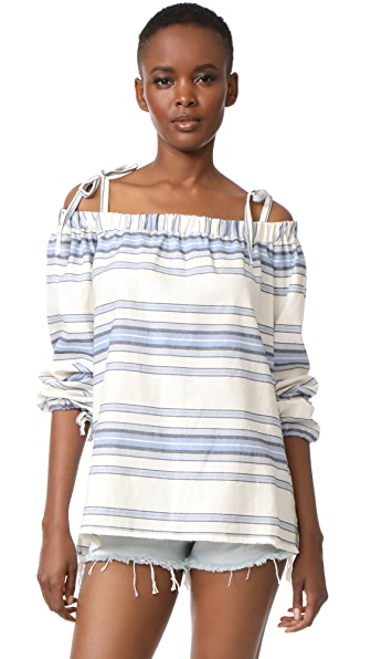 Lemlem Halima Off Shoulder Top