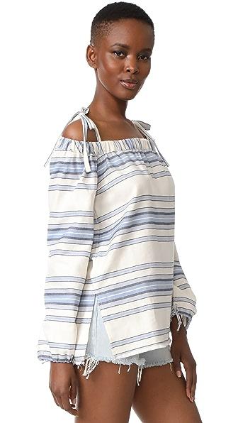 158304e77 Lemlem Halima Off Shoulder Top Detail | Clothing and Dresses