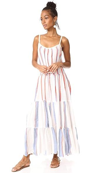 Lemlem Mamo Maxi Slip Dress - Natural