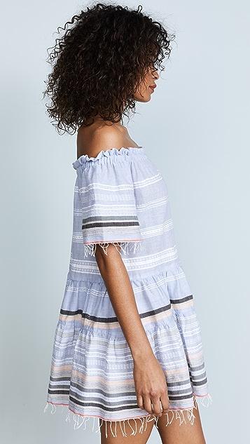 Lemlem Kal Off Shoulder Dress