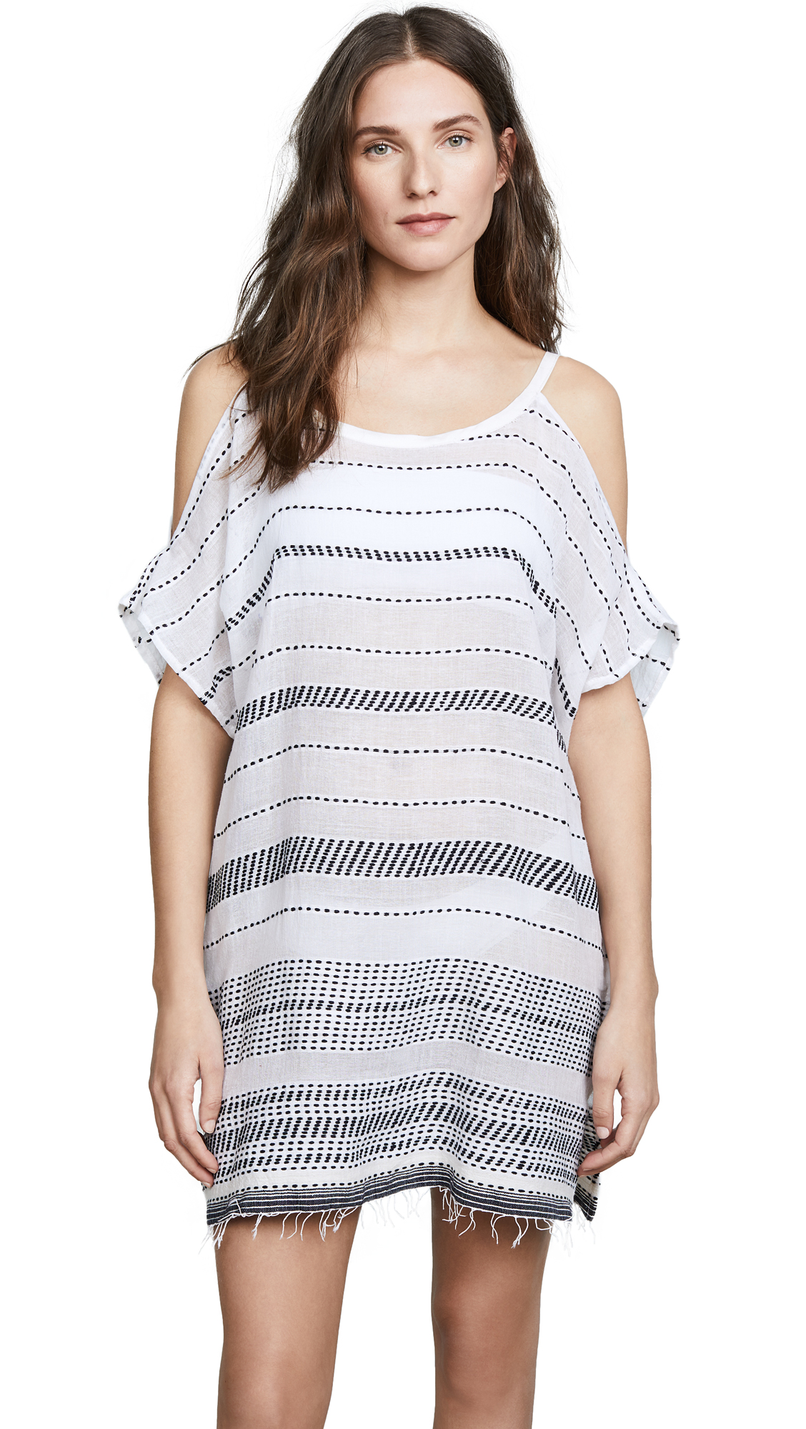 Lemlem Saba Open Shoulder Cover Up