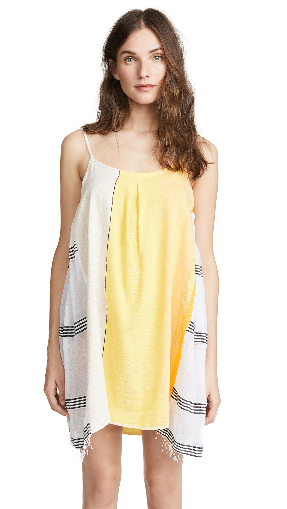 Lemlem Zena Short Slip Dress
