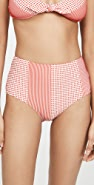 Lemlem Semira High Waisted Bikini Bottoms