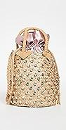 Le Nine Nina Satin Crystal Bag