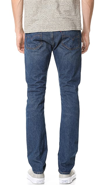 Levi's Red Tab 505 C Slim Straight Jeans