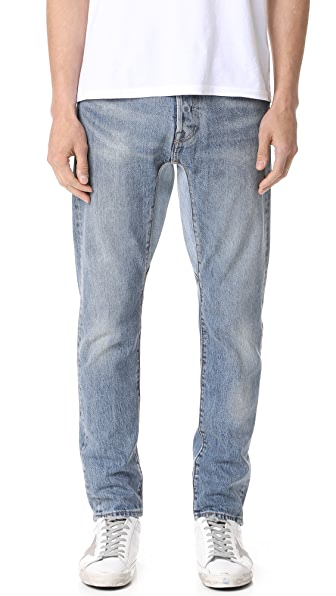 Levi's Red Tab Custom Gusset Tapered Denim Jeans