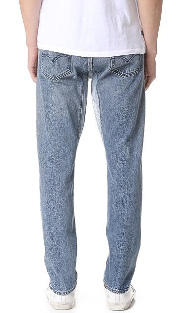 Levi's Red Tab Custom Gusset Tapered Denim Jeans