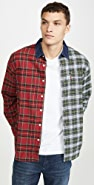 Levi's Red Tab Pieced Sunset 1 Pocket Shirt