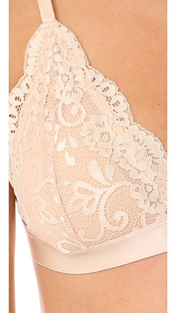 Les Coquines Harlow Lace Triangle Bra