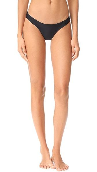Les Coquines Olivia Lace Back Panties - Noir