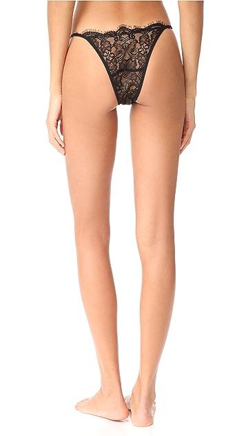 Les Coquines Emery Eyelash String Panties