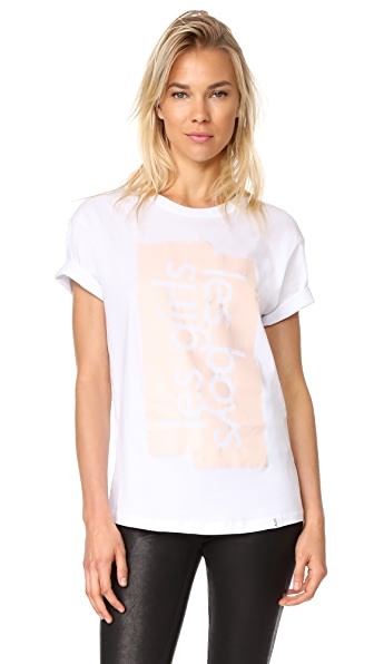 Les Girls, Les Boys Graphic T-Shirt LGLB - White