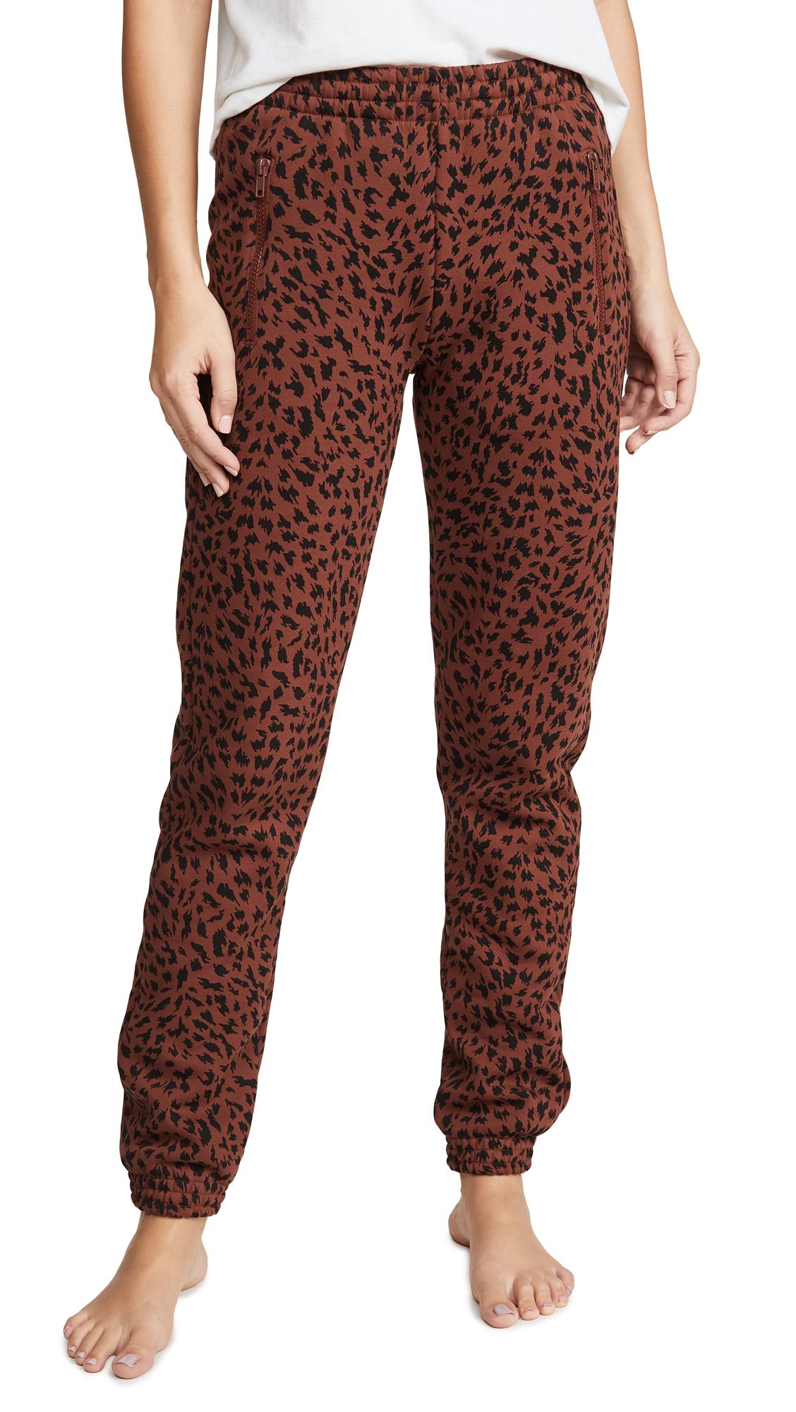 Buy Les Girls Les Boys online - photo of Les Girls Les Boys Brushbacks Slim Track Pants