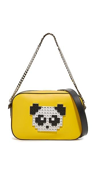 les petits joueurs Roy Metal Panda Bag - Yellow