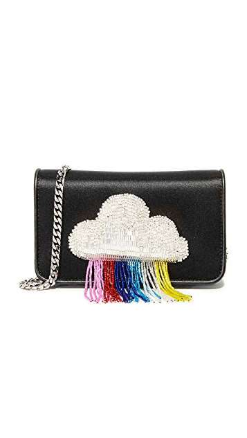 les petits joueurs Ginny Cloud Fringe Bag