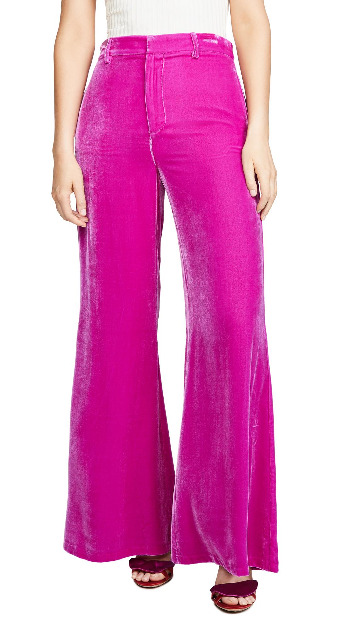 Buy LES REVERIES online - photo of LES REVERIES Velvet Lounge Pants