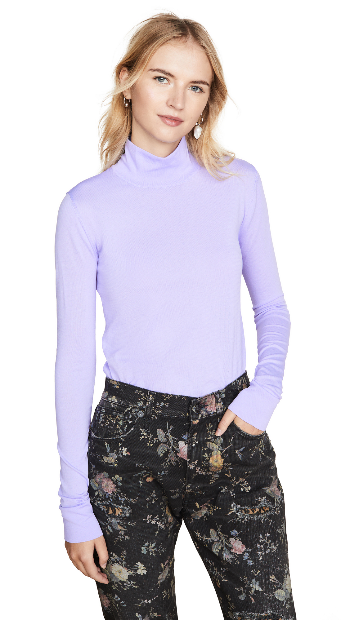 Buy LES REVERIES online - photo of LES REVERIES Turtleneck Top
