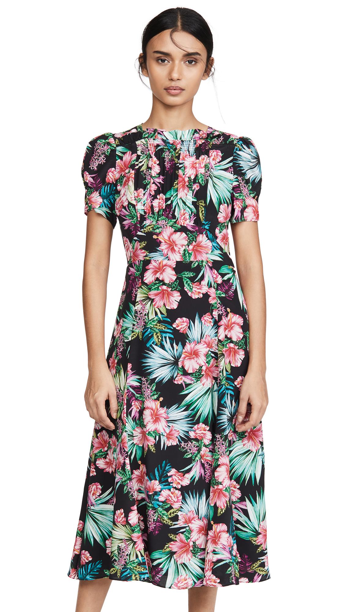 Buy LES REVERIES Smocked Front Dress online beautiful LES REVERIES Clothing, Dresses
