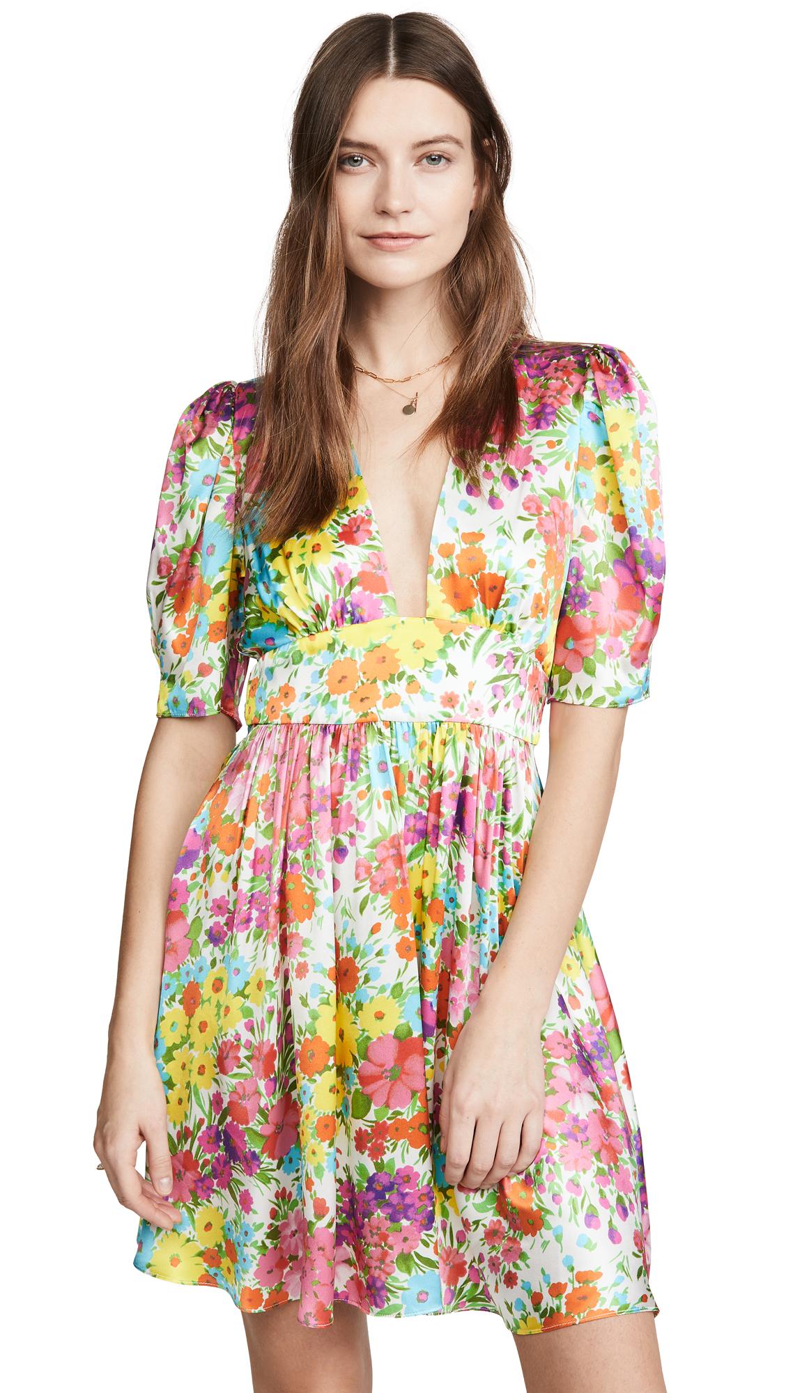 LES REVERIES Gigi Mini Dress - 70% Off Sale