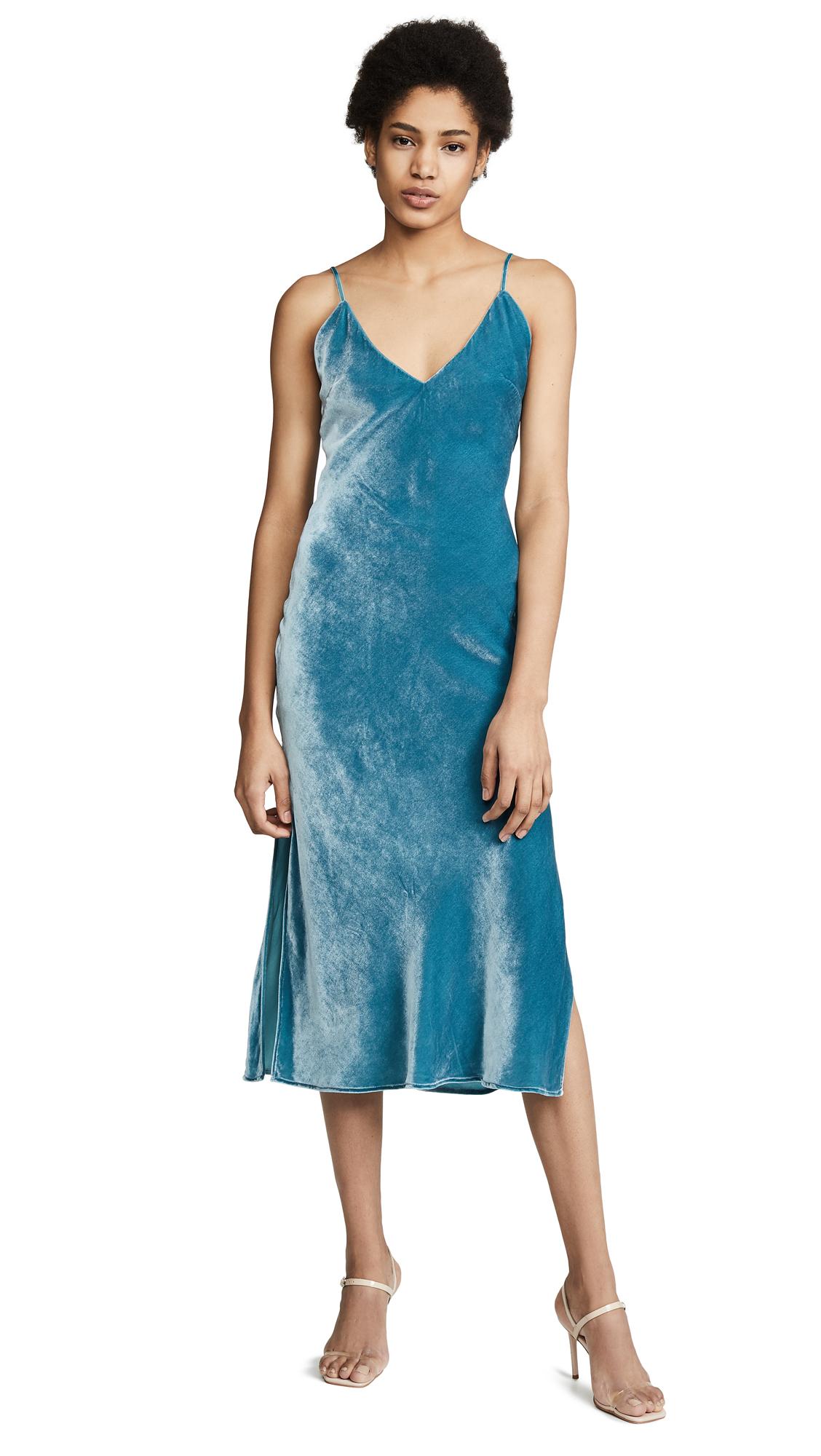 eb5d41d6c29 Le Superbe Nomad Velvet Slip Dress