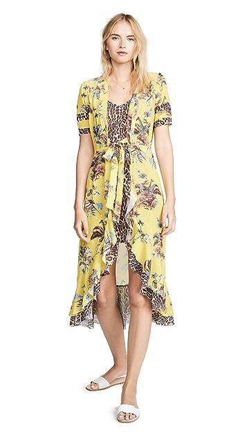 Le Superbe Safari Wrap Dress