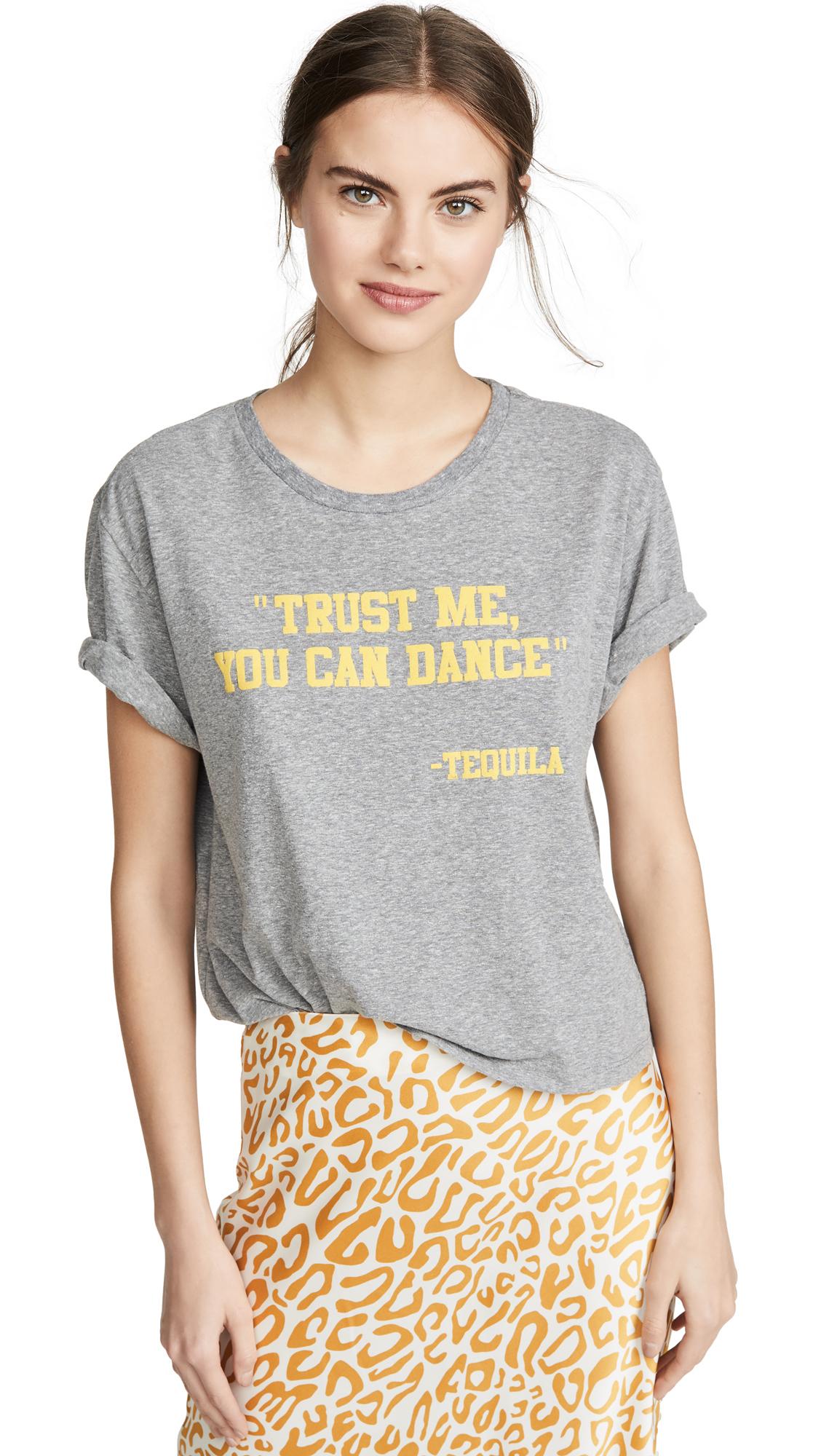 Buy Le Superbe online - photo of Le Superbe Tequila Flocked T-Shirt