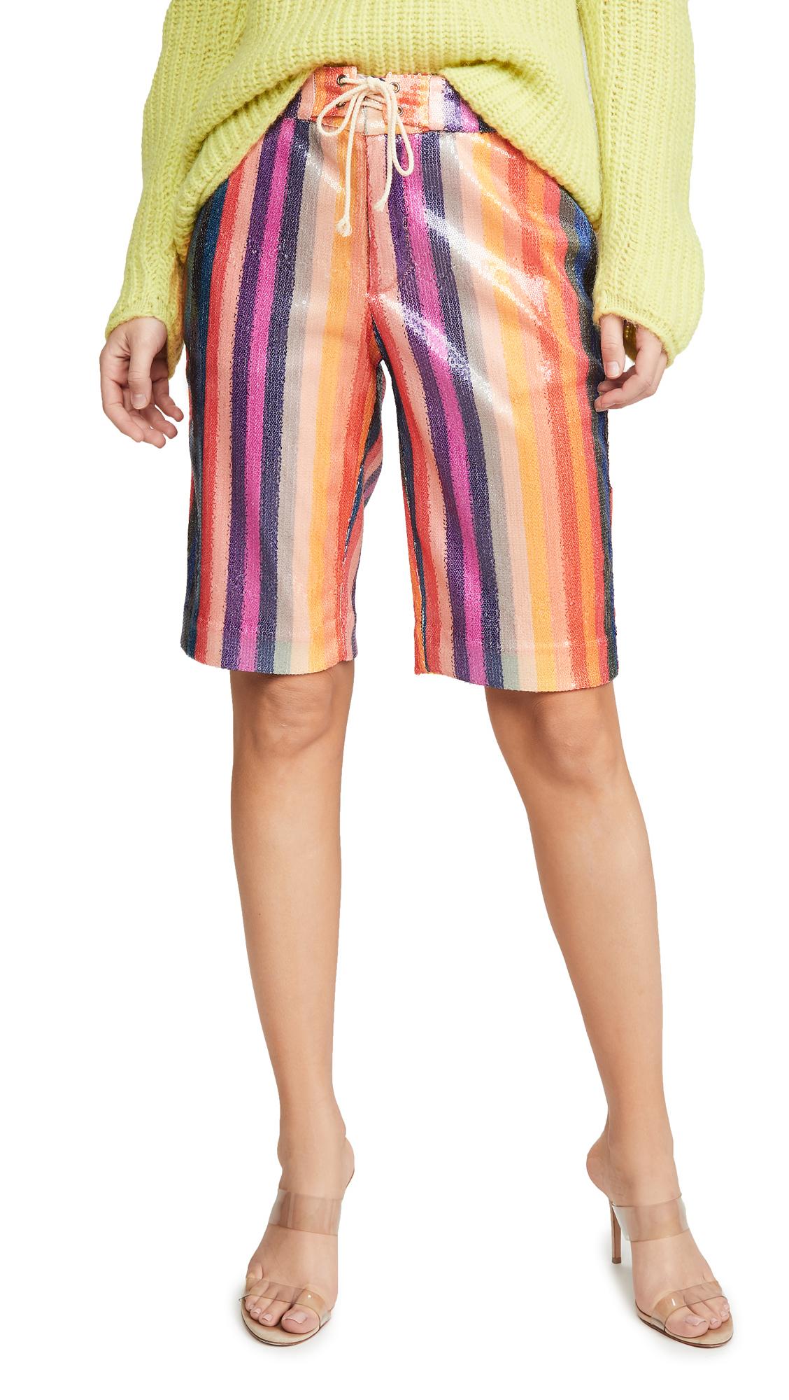 Buy Le Superbe online - photo of Le Superbe Epic Stripe Shorts