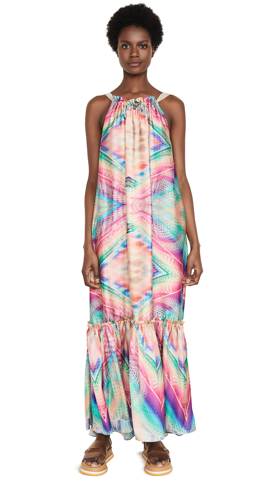 Le Superbe Kaleidoscope Beach Gown – 30% Off Sale