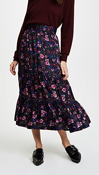 Leur Logette Forest Flower Skirt
