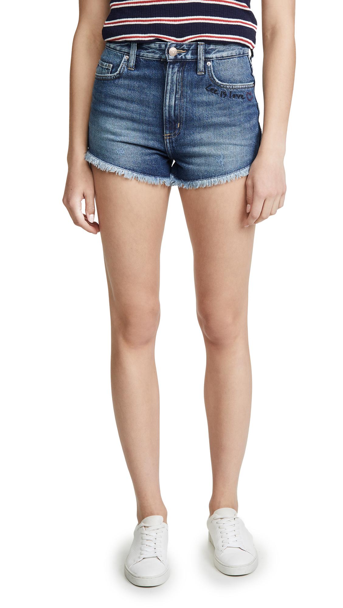 Lee Vintage Modern Cutoff Shorts - True Blue