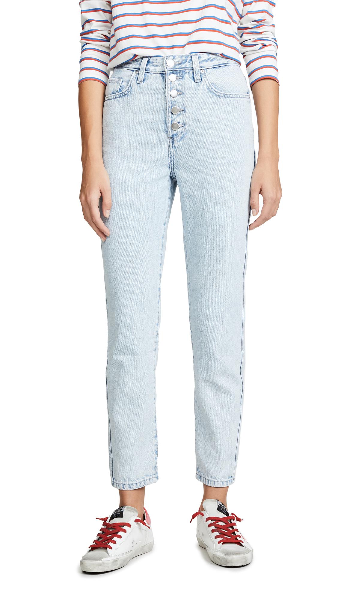 Lee Vintage Modern Straight Leg Jeans - Ice Blue