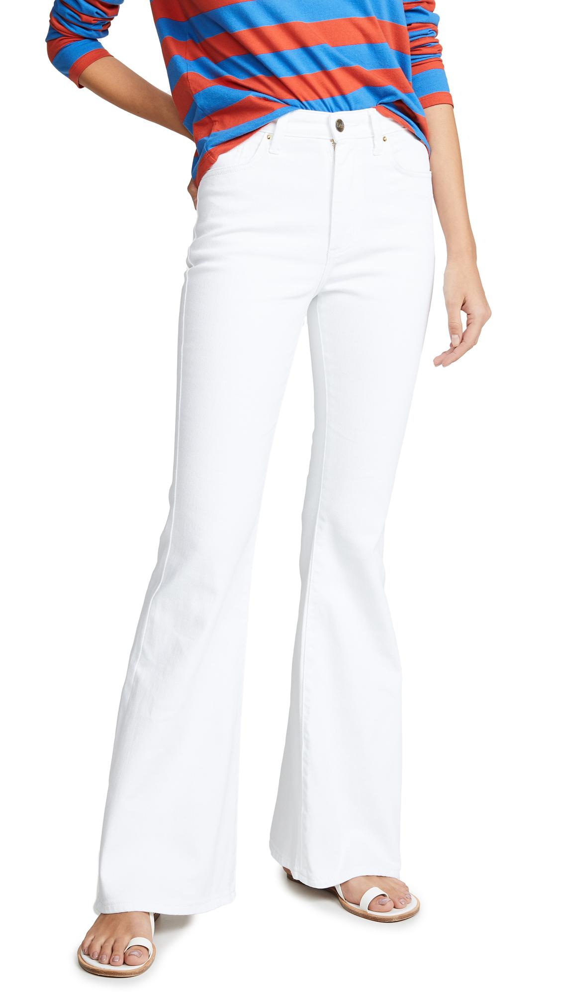 Lee Vintage Modern Flare Jeans - White
