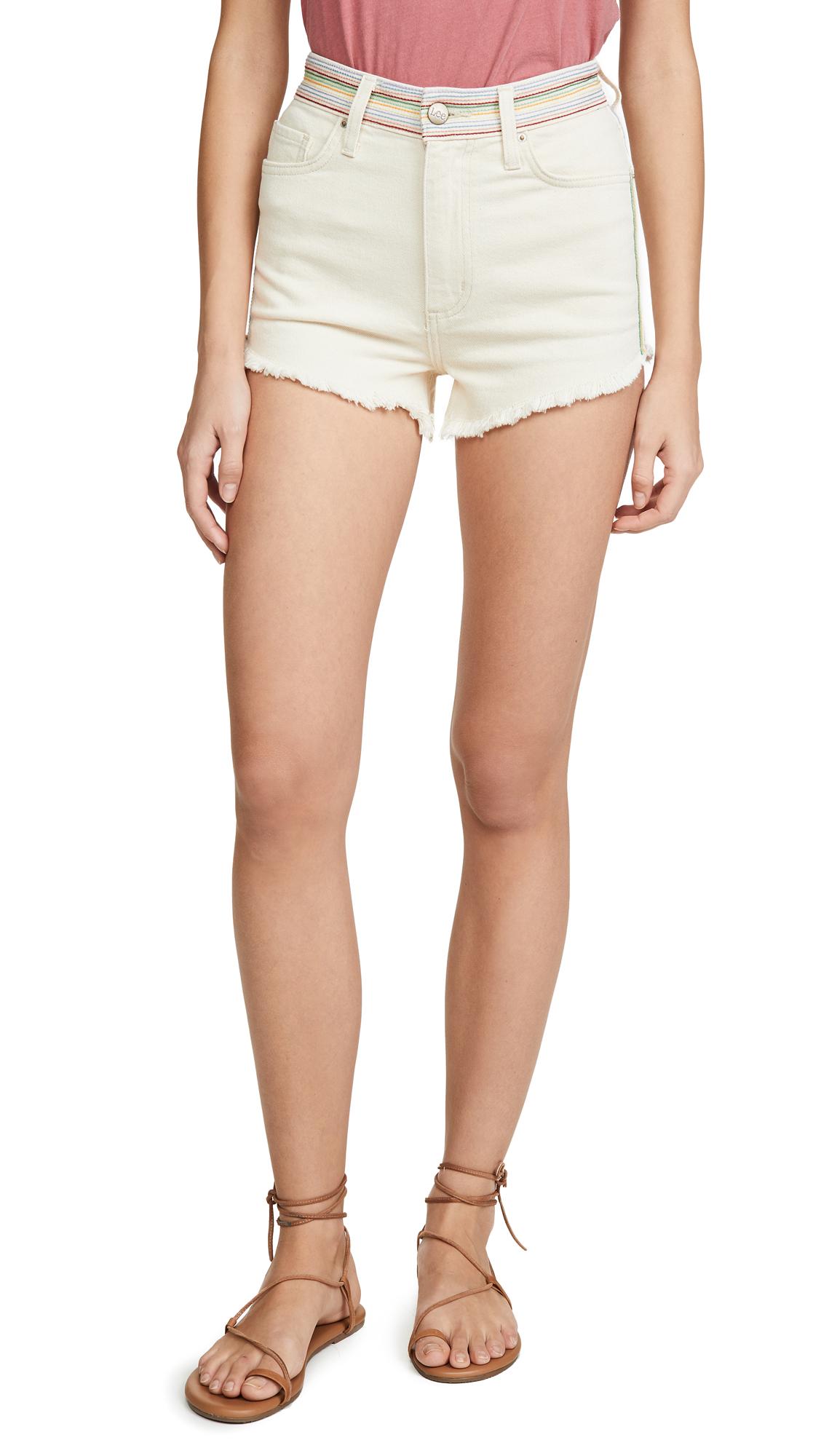 Lee Vintage Modern Cutoff Shorts - Ecru