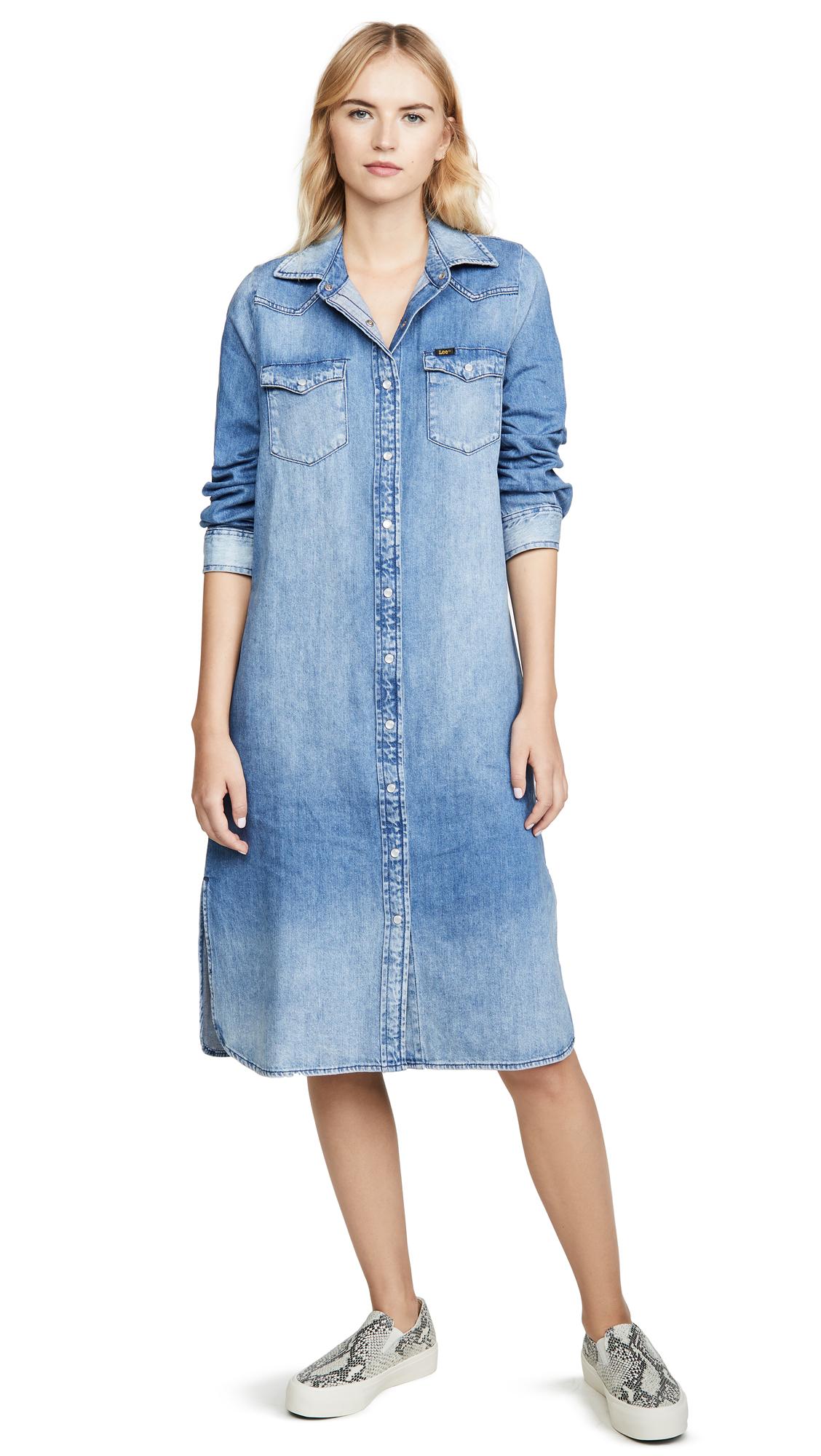 Buy Lee Vintage Modern Western Midi Dress online beautiful Lee Vintage Modern Clothing, Dresses