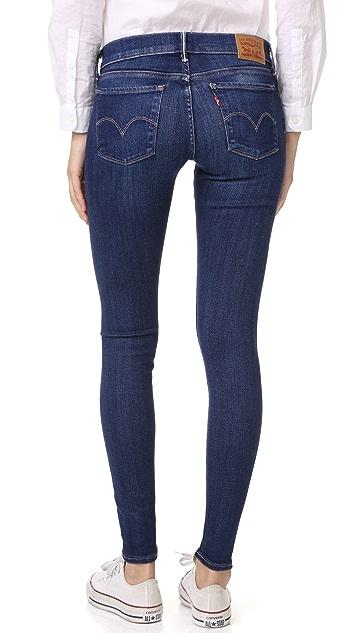 Levi's 710 Super Skinny Selvedge Jeans