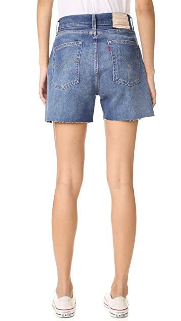 Levi's Levi's Vintage Clothing 1950s 701 Cutoff Shorts
