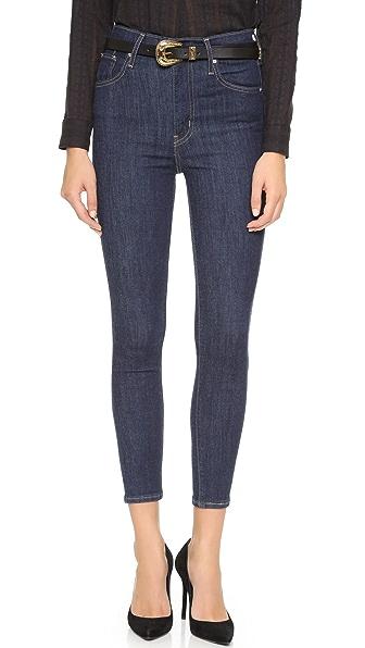 Levi's Mile High Super Skinny Crop Jeans