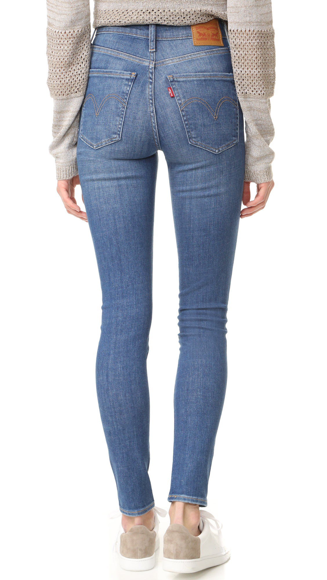 80856d2e5e8d Levi's Mile High Super Skinny Jeans | SHOPBOP