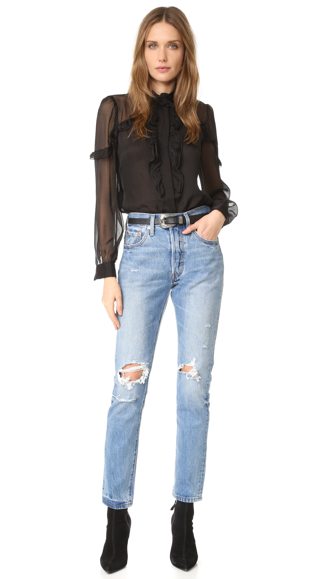 53e3d737 Levi's 501 Skinny Jeans   SHOPBOP