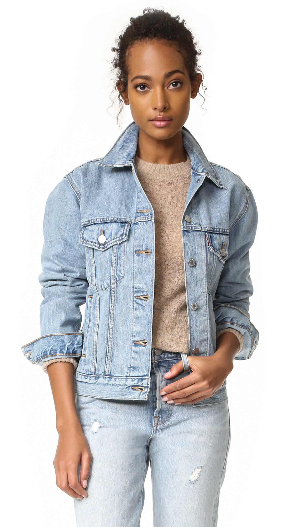 Levi's Ex-Boyfriend Trucker Jacket In Dream Of Life