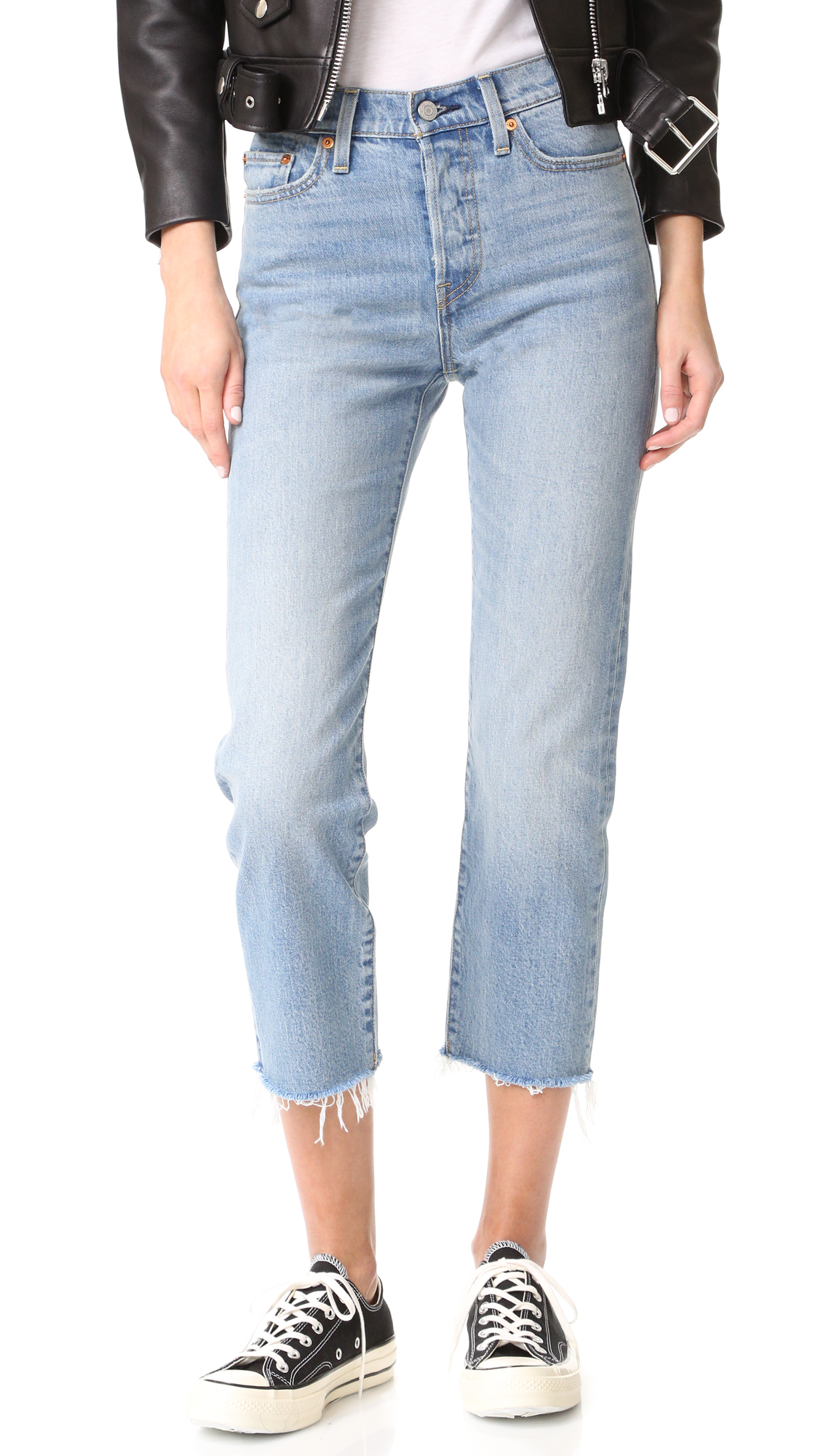 Levis Wedgie Straight Jeans - Rough Tide