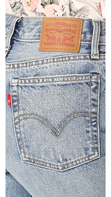 Levi's Wedgie Selvedge Straight Jeans